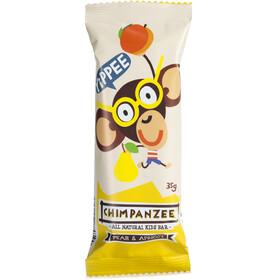 Chimpanzee Yippee Kids Bar - Nutrición deportiva - Pera y Albaricoque (Vegano) 25 x 35g